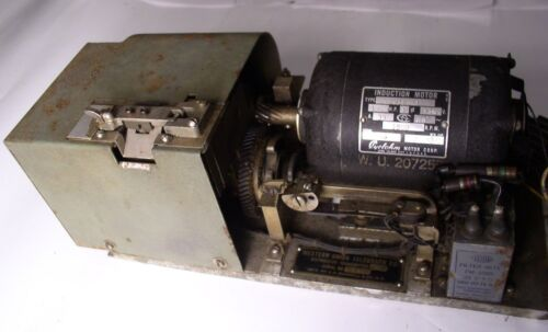 Vintage Western Union Telegraph Distributor Transmitter J.H Bunnell & Co. NY