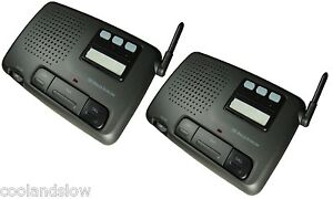 New Circuit Digital FM Wireless 3-channel Home and Office Intercom System 2 unit