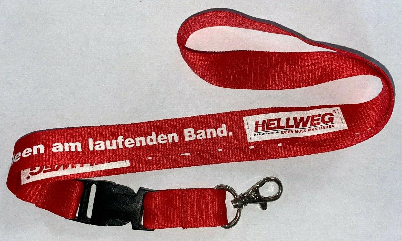 Hellweg Baumarkt Schlüsselband Lanyard NEU (E46)