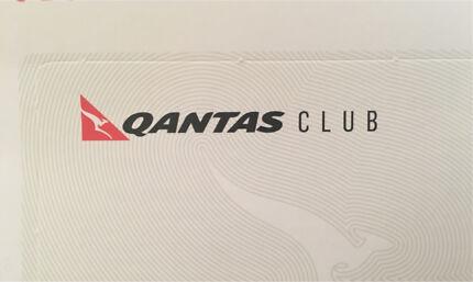 Qantas Club lounge passes X 2