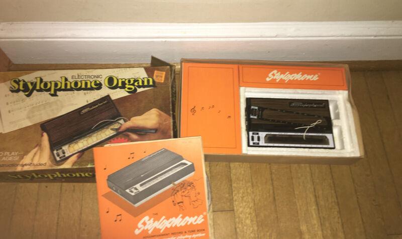 Stylophone Pocket Organ R & M Merchandisers Not Tested Vintage W Box