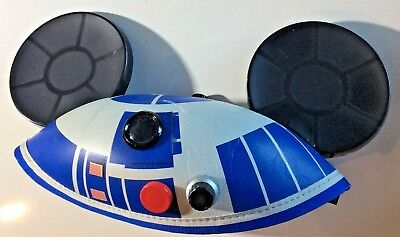 Disney Parks Star Wars Hat R2D2 & Mickey Mouse Ears Size 54cm Youth StarWars