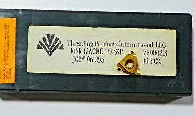 10 Pieces Tpi 16nr 12acme Tp5sp Carbide Inserts  H526