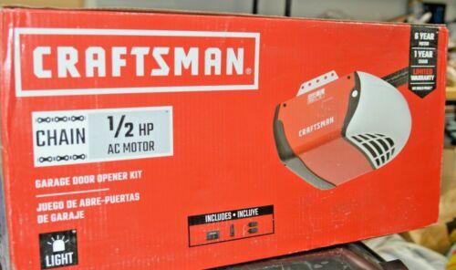 Craftsman 1/2 HP Chain Drive Garage Door Opener CMXEOCG231 Free Shipping NuInBox