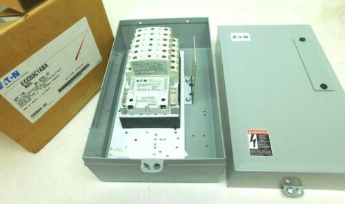 EATON C30CN 30A 12P Electrically Held Lighting Contactor Enclosure ECC3C1ABA VN