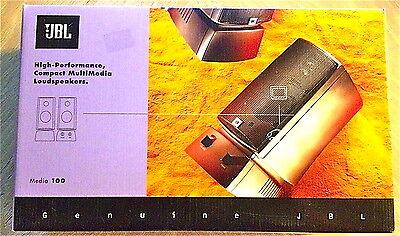 JBL harman/kardon Media 100 Multimedia Computer Speakers PC