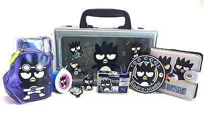 Sanrio Vintage 1993 Lot Hello Kitty Badtz Maru School Supplies Eraser Wallet