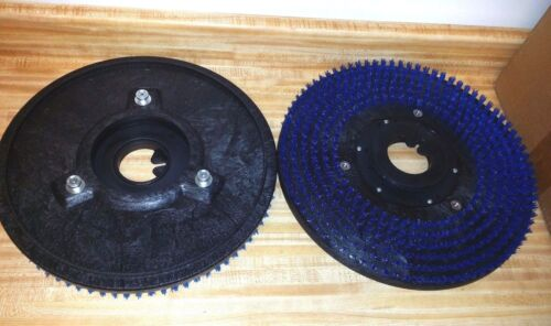 "2 New 16"" Driver 17""Pads Tennant Nobles One Pair Floor Polisher 3 PIN PAD GRAB"