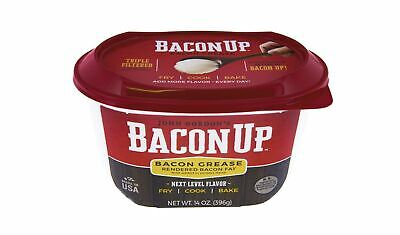 Bacon Up Bacon Grease Rendered Bacon Fat Frying 14OZ 100% Authentic Bacon Grease