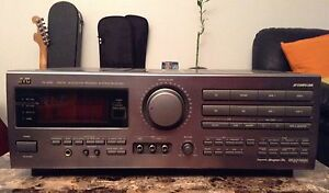 JVC RX-809V digital acoustics process amp system receiver