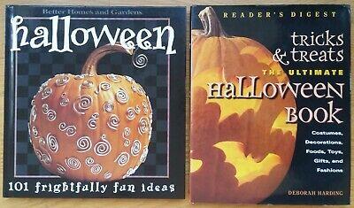 Halloween Party Food Desserts (Lot 2 Halloween Craft Books (HC) Costumes Decorations Food Pumpkins Parties)