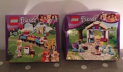Lego Friends 41111 And 41029 Stephanie Sets BNIB