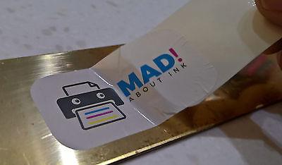 Blanco Calcomanía Papel Transfer para Impresoras Inkjet 50x A4 Hojas