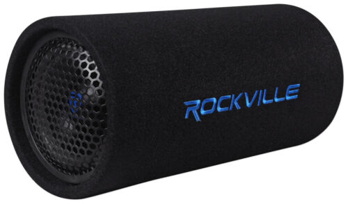 "Rockville RTB65A 6.5"" 300w Powered Active Car Subwoofer Bass"