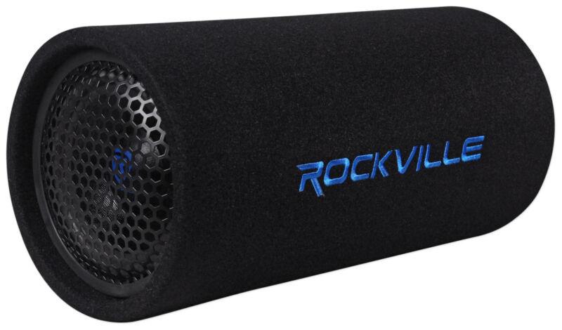 "Rockville RTB65A 6.5"" 300w Powered Active Car Subwoofer Bass Tube + MP3 Input"
