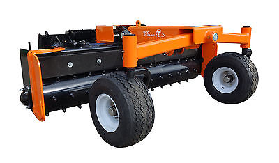 72 Manual Angle Soil Conditioner Power Rake Skid Steer Loader Attachment Bobcat