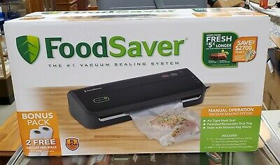 The FoodSaver FM2000 Vacuum Sealing System FM2000-000 with 2 Bonus (The Foodsaver Fm2000 Vacuum Sealer Fm2000 000)