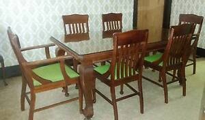 1930's Dining table & chairs Epping Ryde Area Preview
