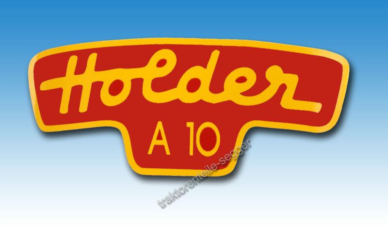 Typenaufkleber für Holder A 10 Knicklenker Cultitrac Schleppern Traktor 01561 Foto 1
