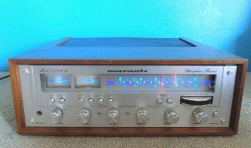 Marantz 2226B AM/FM Stereo Receiver Excellent Condition w/ Blue LED