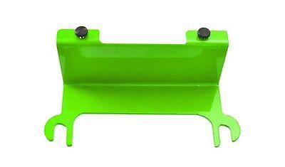 Neon Green License Plate Relocation Bracket Jeep Wrangler JK 07-18 Steinjager