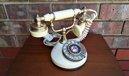 Vintage Victorian Style Rotary Dial Telephone