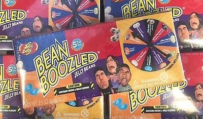 GIFT SET Jelly Belly Bean Boozled 4th Edition Spinner Game P
