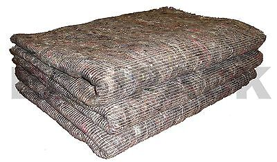 25 x Furniture Moving Van Removal Packing Transit Fabric Blankets -200cm x 150cm
