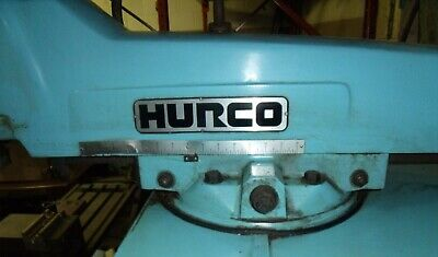 Cnc Km3 Hurco Three Axis Cnc Milling Bridgeport Mill Machine Shop Tool