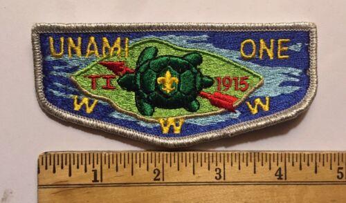 Unami Lodge 1 Order Of The Arrow Flap S-7 New