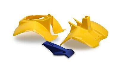 Plastics Set For Suzuki LT50 Yellow Front, Rear Fender Bodywork Panels Nose...