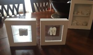 Set of 3 Pictures - White