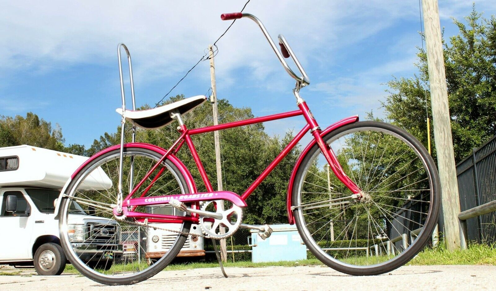 1970 Vintage Columbia Roadster Complete Bicycle Banana Seat Custom Barn Find (599 USD)