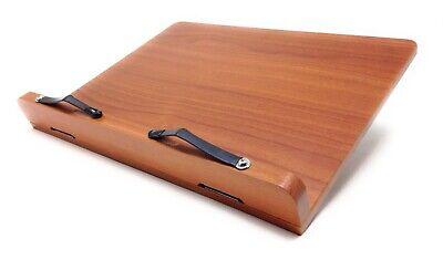 Best Book Stand Portable Wooden Reading Desk Recipe Cookbook Holder Maple