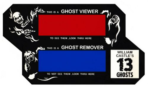"WILLIAM CASTLE ""GHOST VIEWER"" FOR 13 GHOSTS AND OTHERS!  ILLUSION-O  VIEWER"