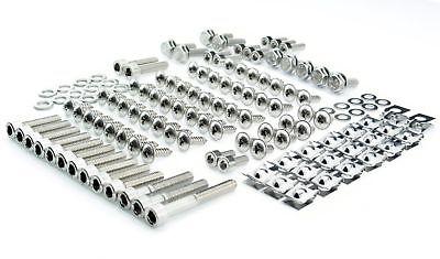 Yamaha Aerox MBK Nitro Schrauben Verkleidung Clips rostfrei Edelstahl 130 Teile
