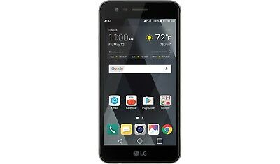 "Open Box LG Phoenix 3 16GB (LG-M150) 5"" LTE AT&T Unlocked Smartphone (Black)"