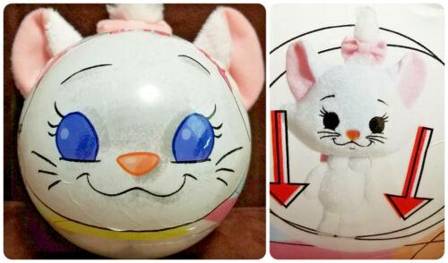 DISNEY CATS Aristocats MARIE Plush Kitten in Ball Cute Collectible HTF FUN GIFT!