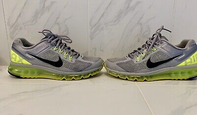 lower price with ef14a 97b52 Men s Nike Air Max 2013 US 9 Wolf Grey Volt Shoes 554886-007