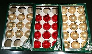 Vintage Glass Christmas Baubles Subiaco Subiaco Area Preview