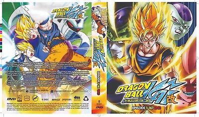 Dragon Ball Z Kai (Chapter 1 - 167 End) ~ 8-DVD SET ~ English Dub Version Anime