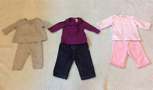 Fall/ Winter Baby Girl Clothing lot- 3 months