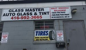 Glassmasters Auto glass and tint