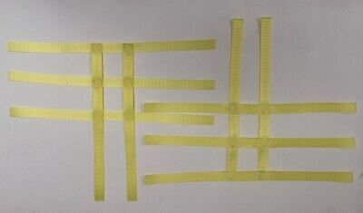 Yamaha Raptor 350 ATV Quad Nerf Bar Nets Webbing Yellow See Description For Size d'occasion  Expédié en Belgium