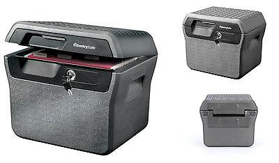 Sentry Home Fireproof Waterproof Fire Small Mini Portable Hidden Safe Lock Box