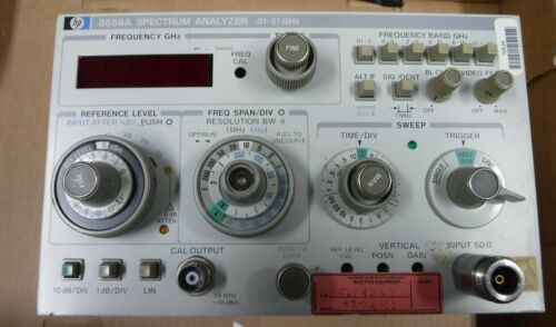 HP-8559A  PLUG INS   LOT OF 2 CLEAN COND.  FREE SHIPPING