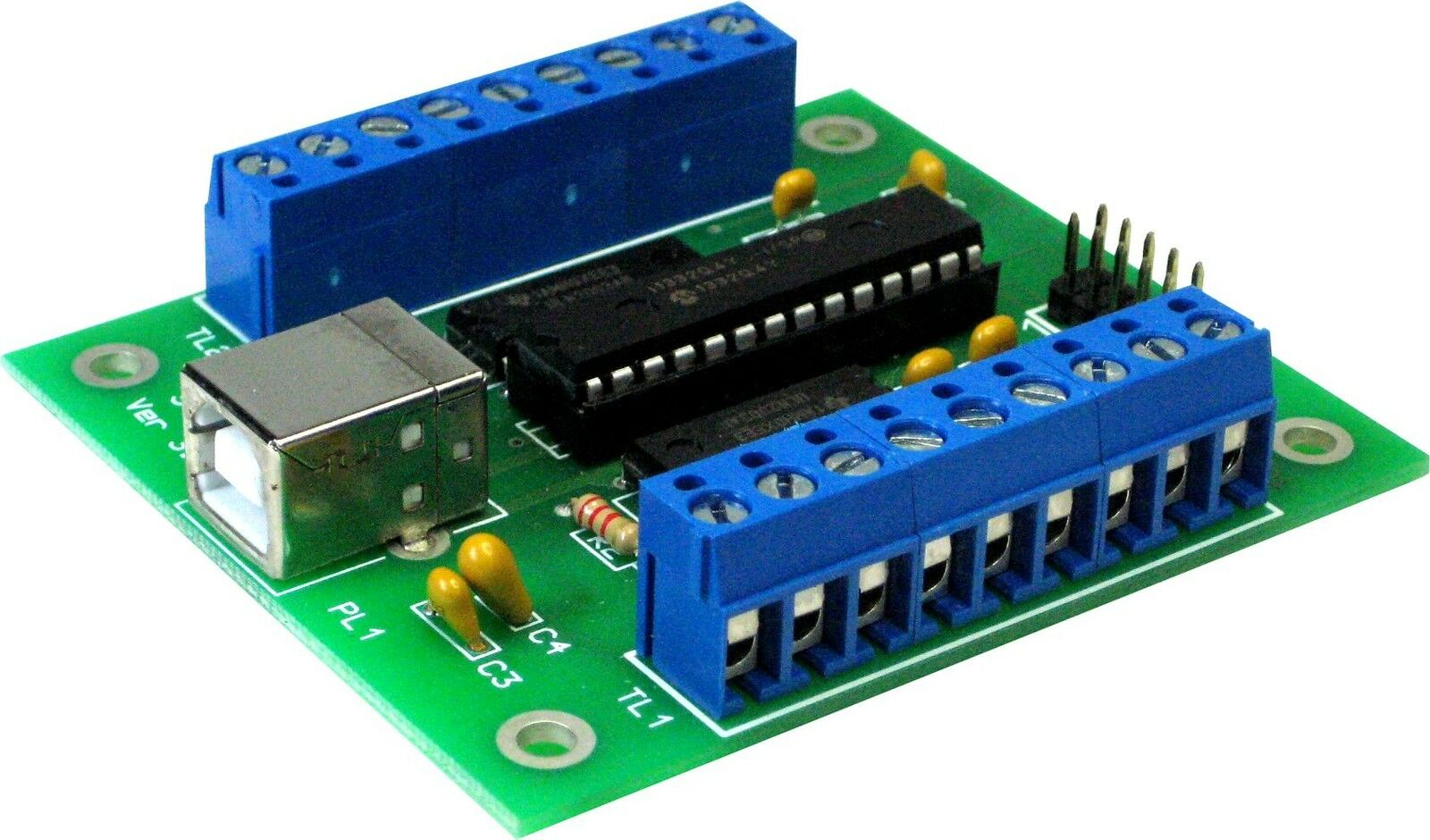 Stepperbee Stepper Motor Control From A Pc 39 S Usb Port Eur 42 57 Picclick De