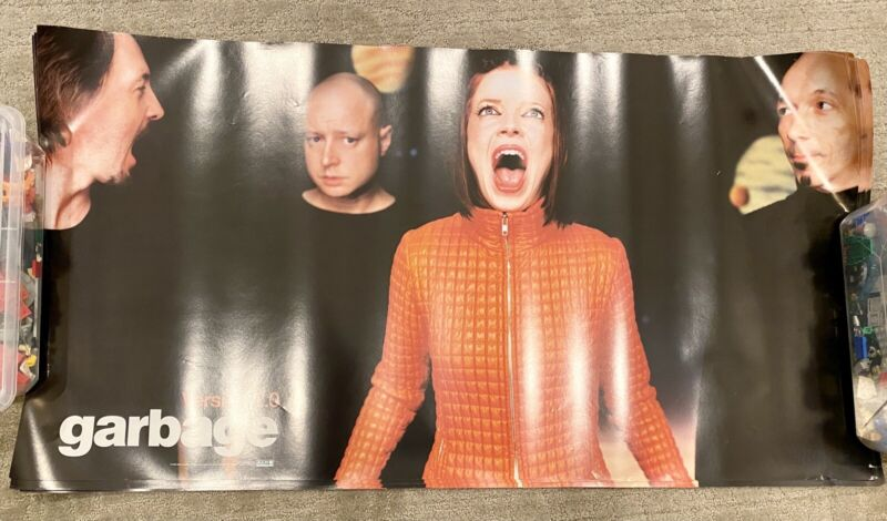 GARBAGE Band (Shirley Manson) Version 2.0 Promo 20x Posters ALMO records (1998)