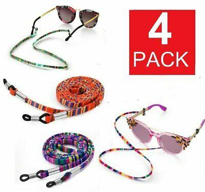 4Ps Adjustable Sunglasses Neck Cord Strap Eyeglass Glasses String Lanyard Holder Eyeglass Straps, Cords & Grips