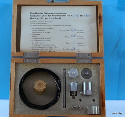 Accelerometerpiezotronics Kd37 Vibration Calibration Kit Nos Mmf Germany